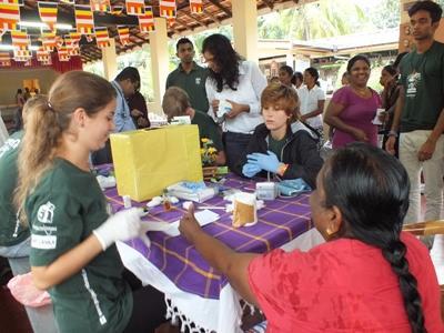Volunteer on the Sri Lanka Medicine Short-term Special project