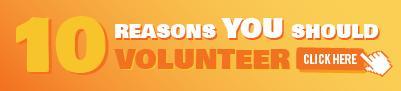 Top Ten Reasons to Volunteer Abroad infographic